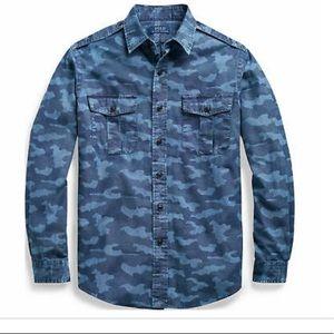 Polo Ralph Lauren Indigo work shirt